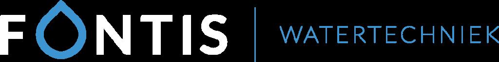Logo Fontis Watertechniek - naast elkaar - kleur